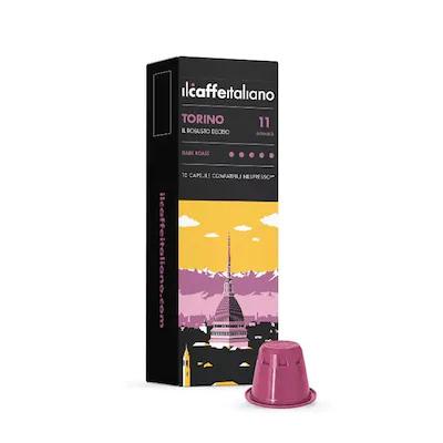 Ιταλικός Καφές Espresso Συμβατός Με Nespresso Il Caffe Italiano Torino - 100 Κάψουλες