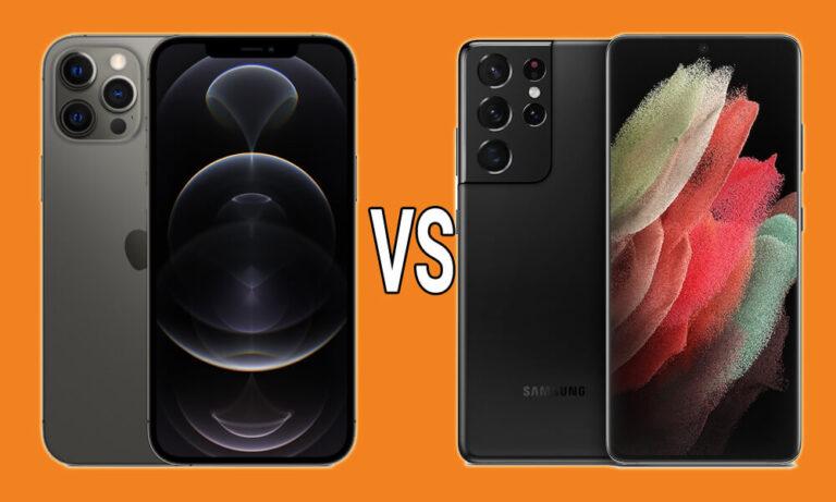 Samsung Galaxy S21 Ultra ή iPhone 12 Pro Max; Ποιο είναι το καλύτερο κινητό;
