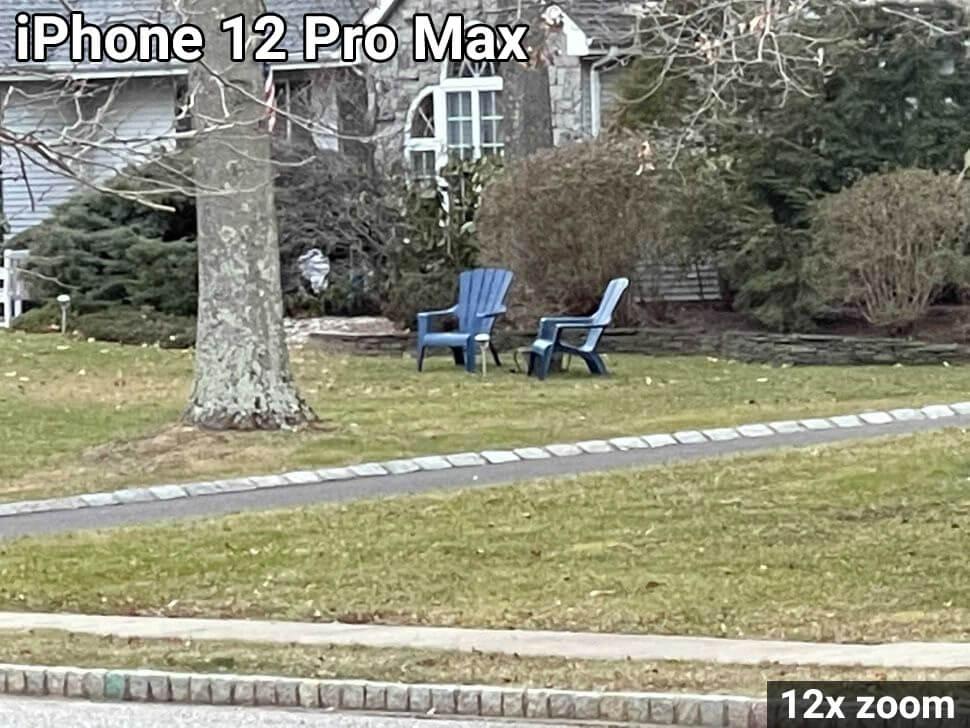 iphone 12 pro max ζουμ